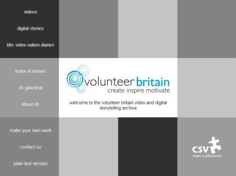 Volunteer Britain website