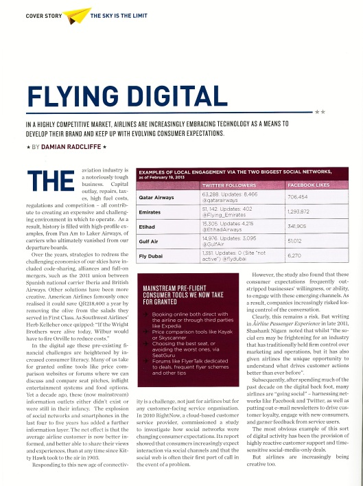 Flying Digital page 1