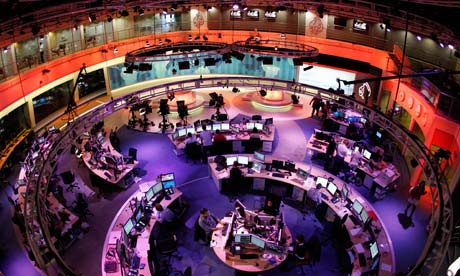Al-Jazeera newsroom in Doha, Qatar