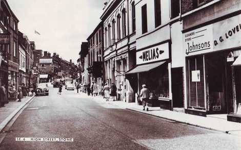 Staffordshire, Stone High Street 1960's
